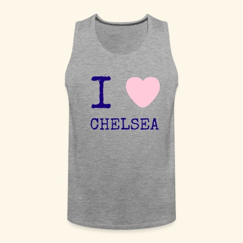 I Love Chelsea 2017 - Men's Premium Tank Top