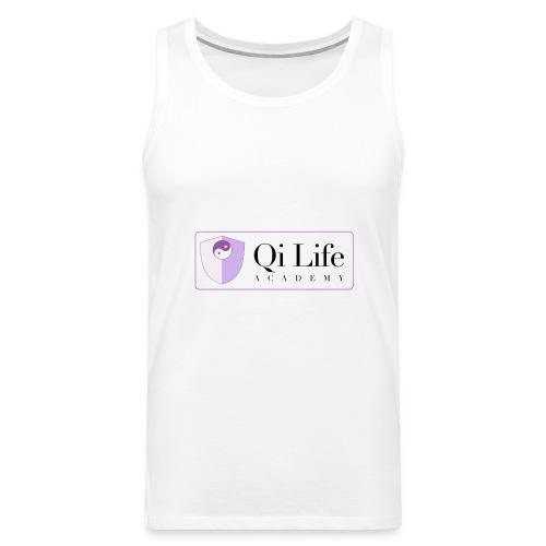 Qi Life Academy Promo Gear - Men's Premium Tank Top