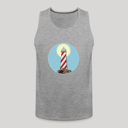 Lighthouse day - Canotta premium da uomo