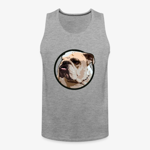 Bulldog - Men's Premium Tank Top