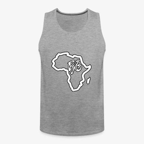 afrika pictogram - Mannen Premium tank top