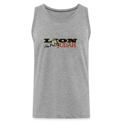 Tribal Judah Gears - Men's Premium Tank Top