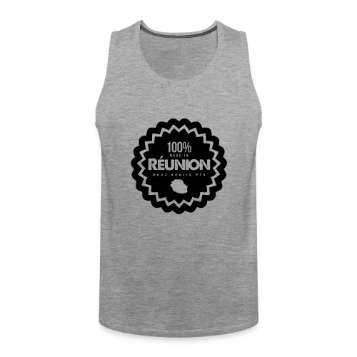 Collection 100% MADE IN REUNION - Débardeur Premium Homme