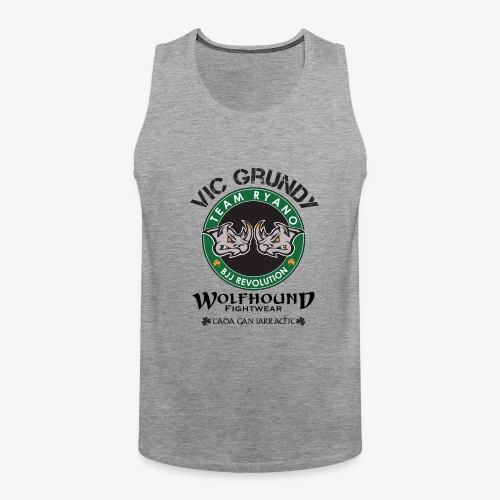 vic grundy back png - Men's Premium Tank Top