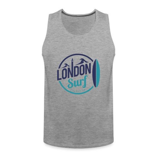 London Surf Classic Logo - Men's Premium Tank Top