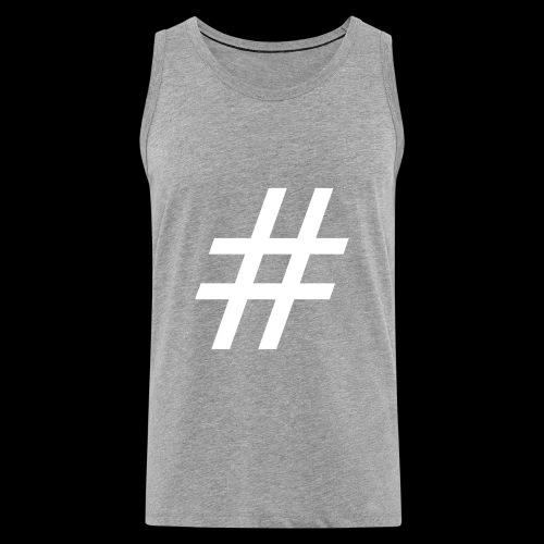Hashtag Team - Männer Premium Tank Top