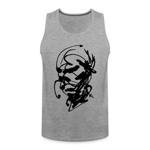 face - Men's Premium Tank Top