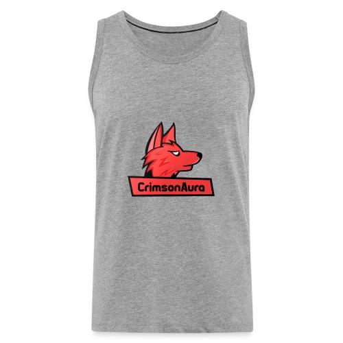 CrimsonAura Logo Merchandise - Men's Premium Tank Top