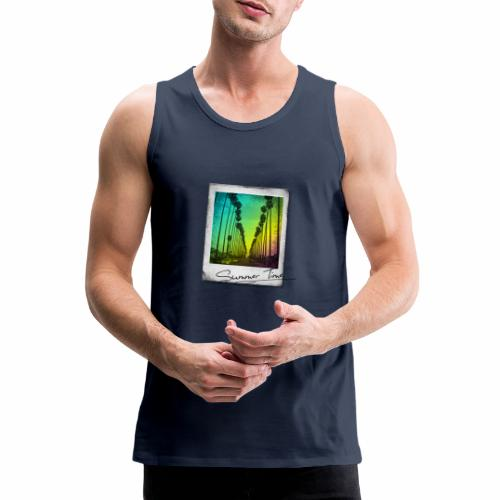 Summer Time - Men's Premium Tank Top