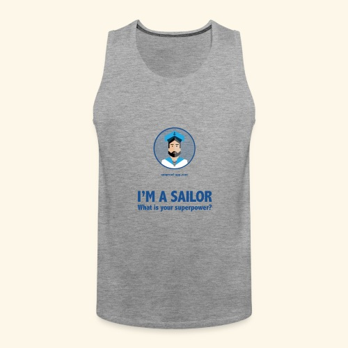 SeaProof Superpower - Männer Premium Tank Top