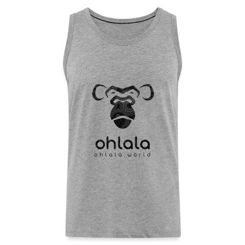 Ohlala Retro BLACK - Débardeur Premium Homme