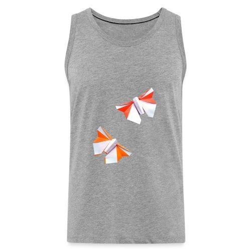 Butterflies Origami - Butterflies - Mariposas - Men's Premium Tank Top
