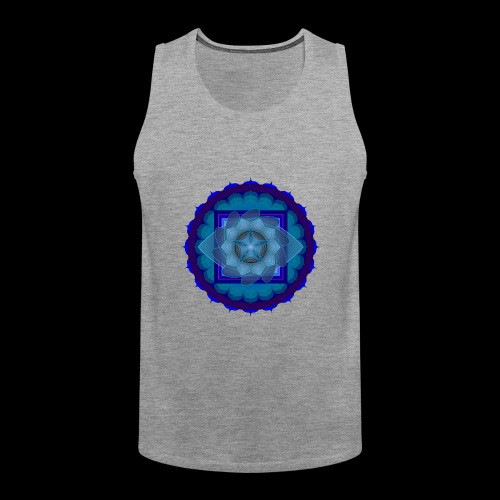 mandala 4 - Men's Premium Tank Top