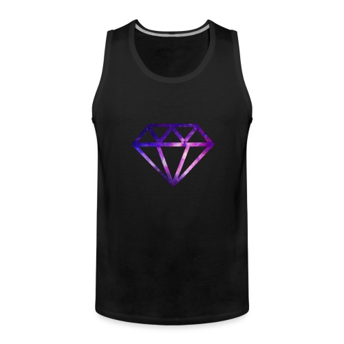Galaxy Diamonds - Men's Premium Tank Top