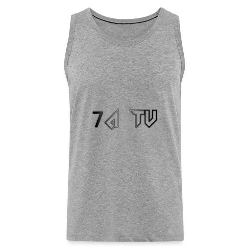 7A TV - Men's Premium Tank Top