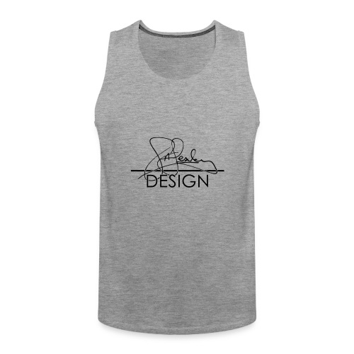 sasealey design logo png - Men's Premium Tank Top
