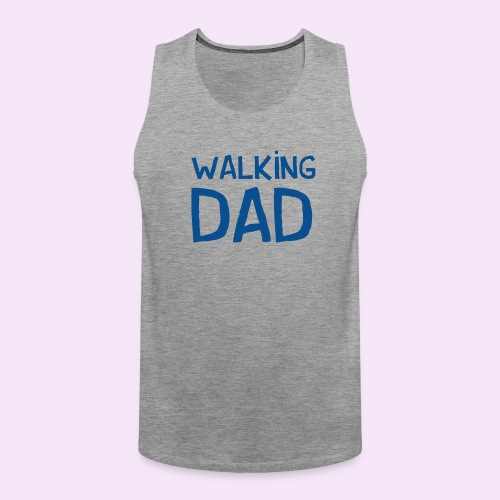 Vierdaagse Nijmegen - Walking Dad BLUE - Mannen Premium tank top
