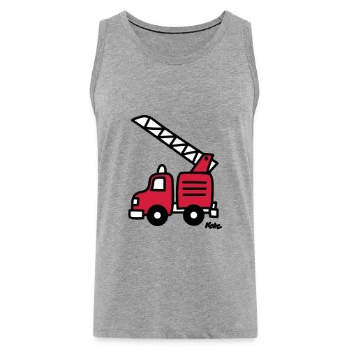 Feuerwehrauto (c) - Männer Premium Tank Top