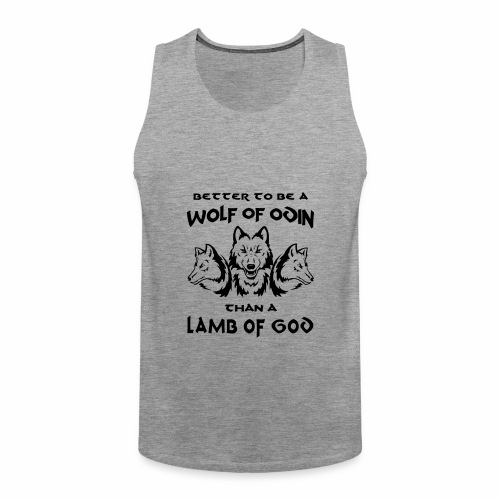 Wolf of Odin - Tank top premium hombre