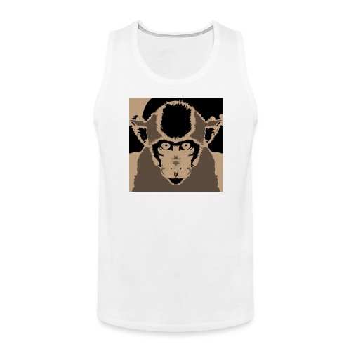 Monkey (Macaca fascicularis) - Men's Premium Tank Top