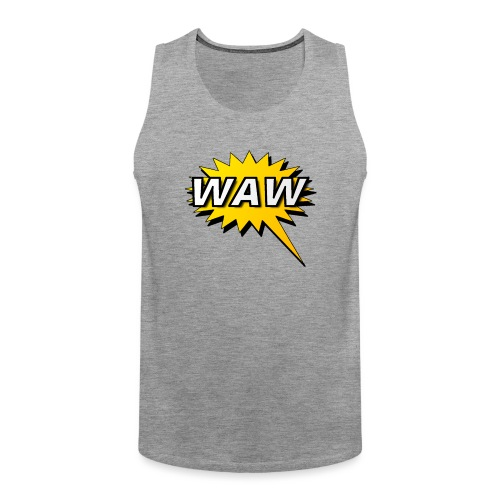 WAW - Tank top premium hombre