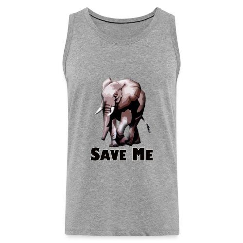 Elefant - SAVE ME - Männer Premium Tank Top