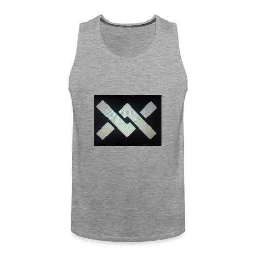 Original Movement Mens black t-shirt - Men's Premium Tank Top