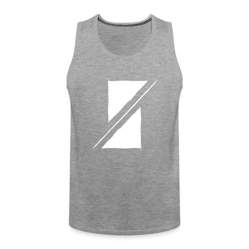 Muzik & Friendz Records Logo - Mannen Premium tank top