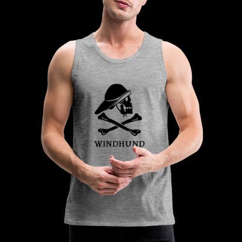 ~ Windhund ~ - Männer Premium Tank Top