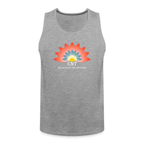Support Renewable Energy with CNT to live green! - Men's Premium Tank Top