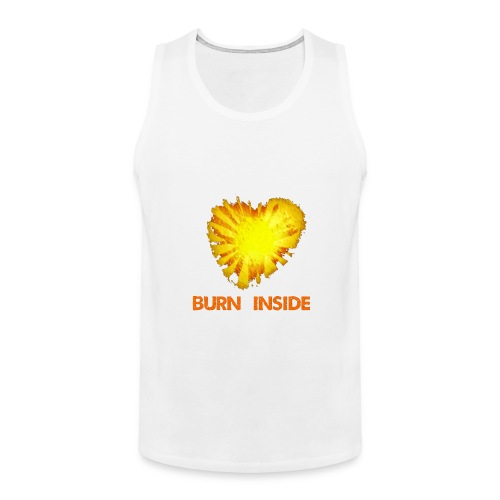 Burn inside - Canotta premium da uomo