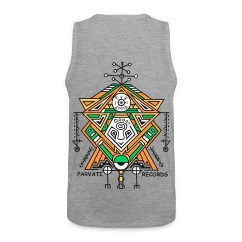 Parvati Records Vegvísir - Men's Premium Tank Top