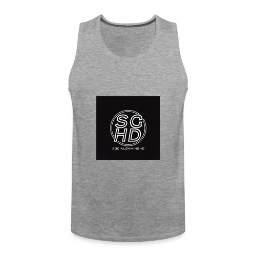 SocialGamingHD merch - Men's Premium Tank Top