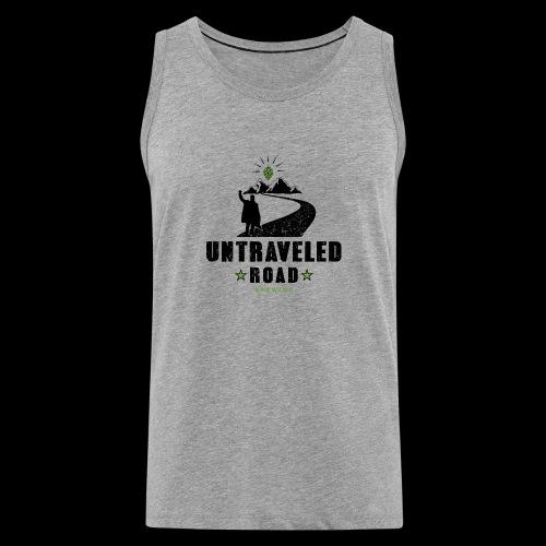 Untraveled Road Logo - black/small - Männer Premium Tank Top