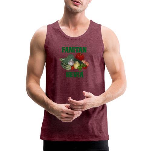 Fanitan heviä - Miesten premium hihaton paita