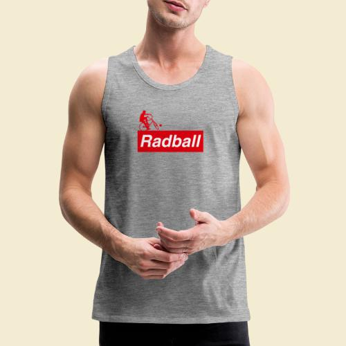 Radball | Red - Männer Premium Tank Top