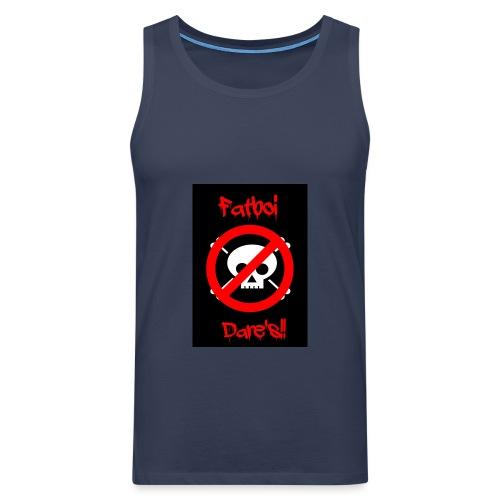 Fatboi Dares's logo - Men's Premium Tank Top