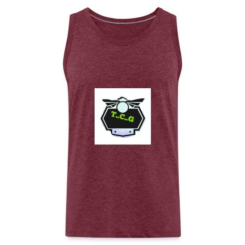 Cool gamer logo - Men's Premium Tank Top