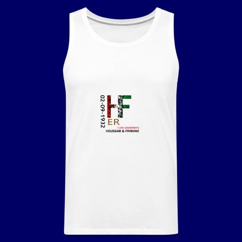 H&F ER - Canotta premium da uomo