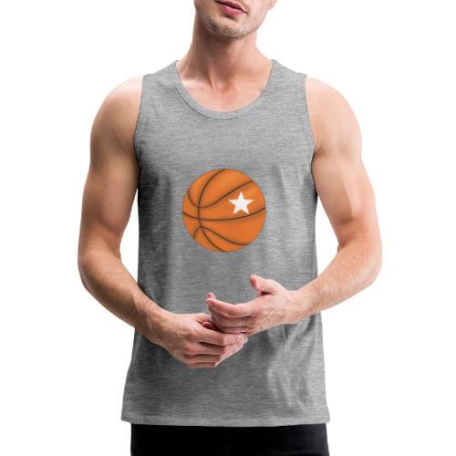 Basketball Star - Mannen Premium tank top