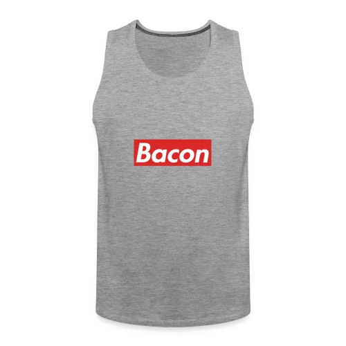 Bacon - Premiumtanktopp herr