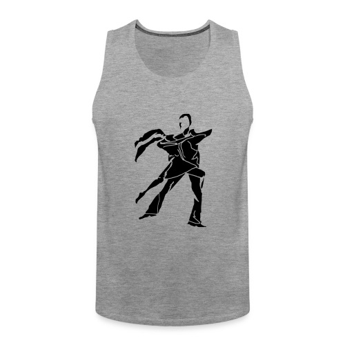 dancesilhouette - Men's Premium Tank Top