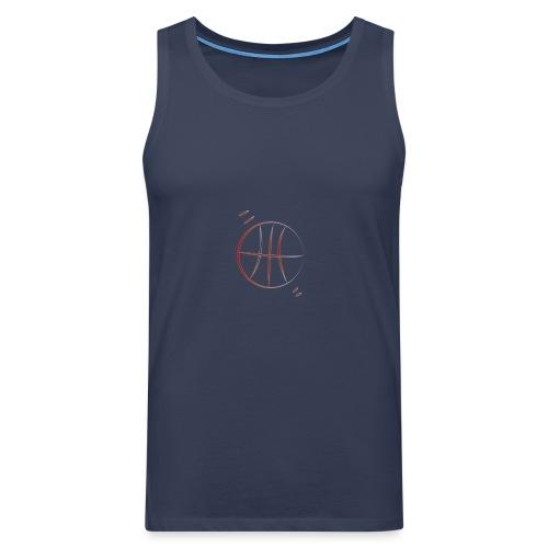 basket - Canotta premium da uomo