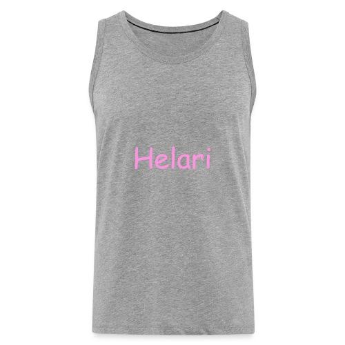Helari Merch - Miesten premium hihaton paita