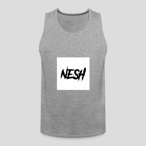 Nesh Logo - Männer Premium Tank Top