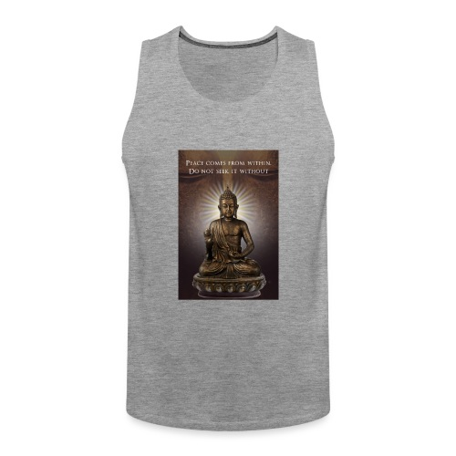 Peace from Within - Men's Premium Tank Top