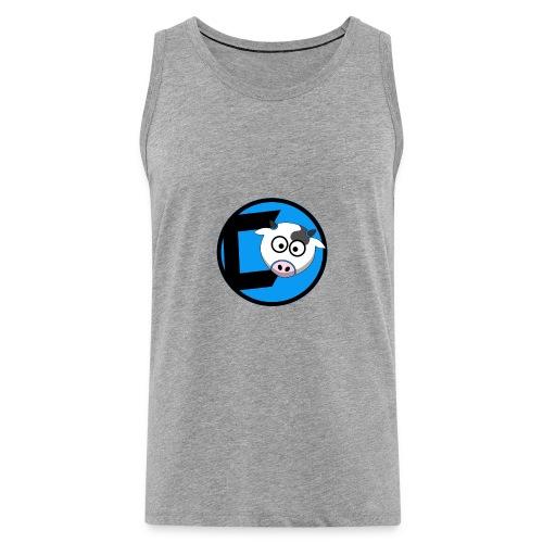 CoveredCow Logo 3 - Men's Premium Tank Top