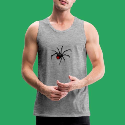 spider logo fantasy - Canotta premium da uomo