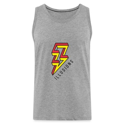 ♂ Lightning - Männer Premium Tank Top