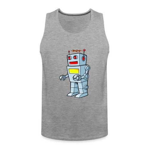 Robot - Canotta premium da uomo